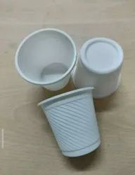 ECOFY White 175 Ml Cornstarch Cup, For Event and Party Supplies