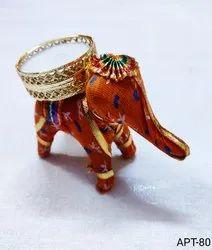 Elephant T-Light Candle Holder
