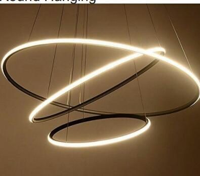 Aluminium Modern Led Chandeliers Light