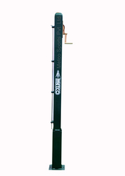 Lawn Tennis Pole Removable With Brass Ratchet