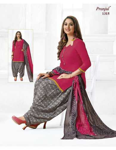 14b09a525a Pranjul Priyanka Patiala Special Vol 13 Pure Cotton Pali Churidar Dress  Materials