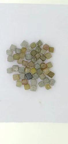 3mm to 4mm 15 carat Congo Cube Diamond