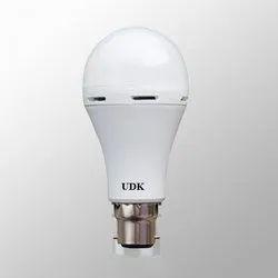 UDK 9 Watt 9W Rechargeable LED Bulb/ Shine Series, B22 & E27