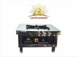 CAMPAIGNER Ss Electric Bhatti, For Cooking, 3kw
