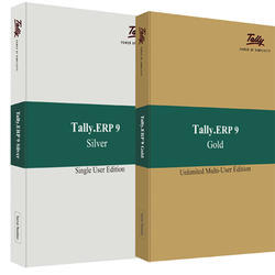 Tally ERP Silver And Gold