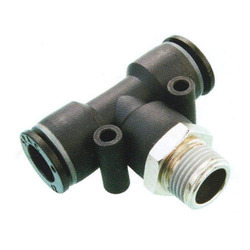 Pneumatic Fittings Male Tee