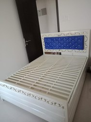 M R Steel Wrought Iron Double Bed