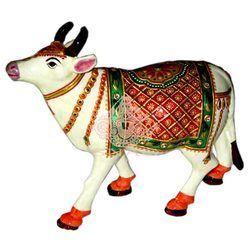 Meena Cow Statue