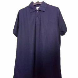 Mens Plain Blue T Shirt, Size: S - XL