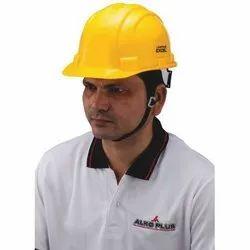 ABS Alko Plus Yellow Industrial Safety Helmet