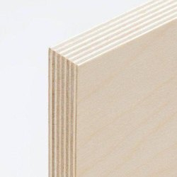 White Wooden Plywood, For Furniture, Thickness: 18 Mm
