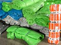 Colored LDPE Sheets (Yellow, Green, Blue, Silver)