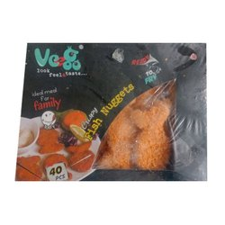 365 Days Frozen Fish Nuggets, Packaging Type: Packet, Iqf