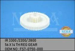 56 x 14 Th Reg Gear  IR 3300 /2200/ 2800  OEM No : Fs7-0750-000
