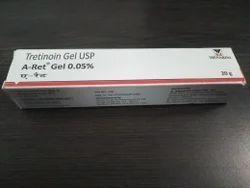 A-Ret Gel 0.05% - Tretinoin Gel