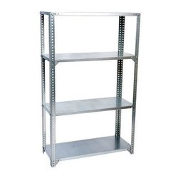Custom Fabricated Powder Coated Steel Rack, for Warehouse