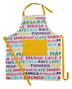 Letter Printed Kitchen Aprons