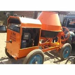 Concrete Mixer with Generator