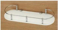 K-302 Acrylic Ovel Shelf