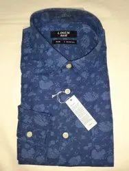 Cotton Collar Neck Men Readymade Shirts