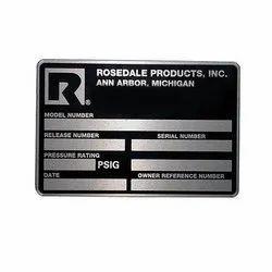 Aluminum Nameplates