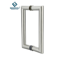 Silver Stainless Steel 304 Glass Door Pull Handle