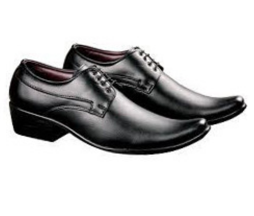 Black Men Formal Shoes, Size: 6-10