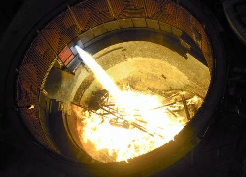 burner system for electric arc furnace
