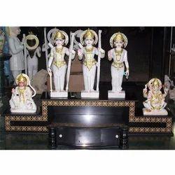 Material Black Granite Altar For Idols