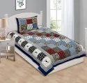 Jaipuri Elegant Print Single Bedsheet Cotton