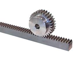 Gear Racks and Gear Pinions