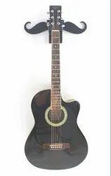 Guitar Wall Hanger - Mustache Design / Guitar Stand