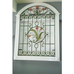 Wrought Iron Wall Grill