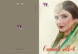 Omnah Silk Saree Vol 6 Tanchui Art Silk Saree