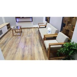 Wooden Modern Living Room Sofa Set, Cushion Back