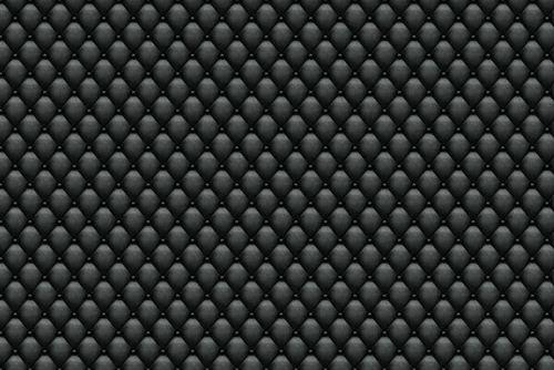 Multi Color Non Woven Vinyl Diamond Black Padded Leather Wallpaper Pattern Size