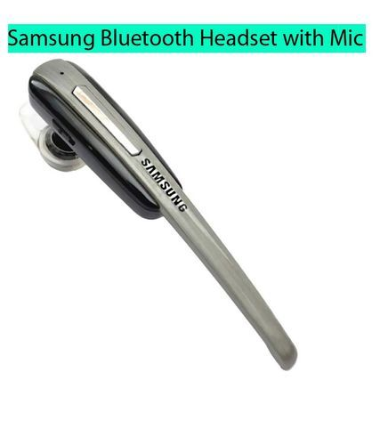 Grey Samsung Wireless Bluetooth Headset Rs 110 Piece Ortel Electronics Private Limited Id 20086018062