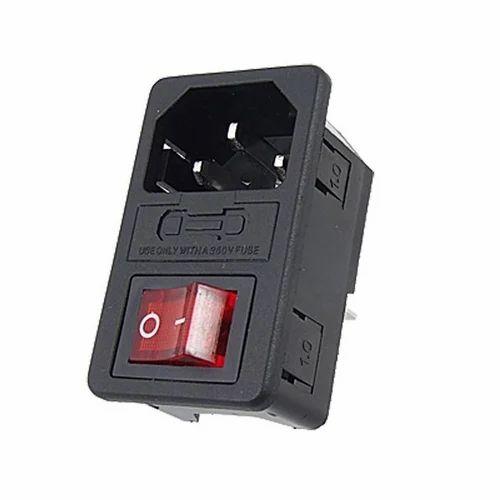 3 Pin Male Power Socket