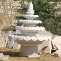 White Designer Marble Fountain