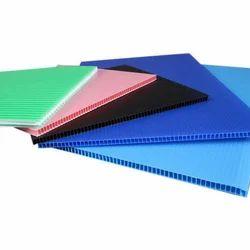 Multicolor PP Flute Board