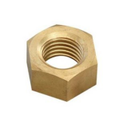 Hexagonal Brass Hex Nut, Size: M3 To M20