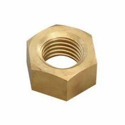 Presha Enterprise Hexagonal Brass Hex Nut, Size: M3 To M20