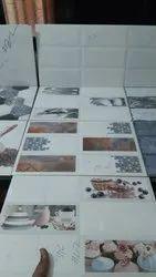 Ceramic Gloss Vitrified Floor Tile, Thickness: 10 - 12 mm, Size: Medium