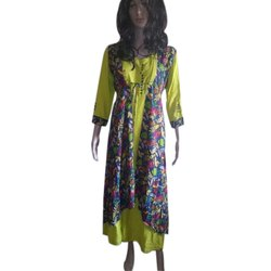 Round Hand Wash Ladies A-Line Casual Cotton Kurti