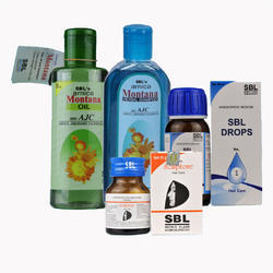 SBL 116 Hair Care Pack (Combo OF 4), for Commercial, Packaging Type: Bottle