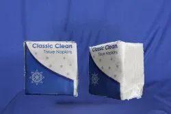 White Poster Classic Clean Paper Napkin, 17, Size: 18 Cm X 20 Cm