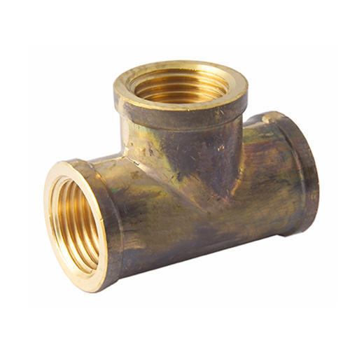 Brass Tee, Size: 1/4 Inch
