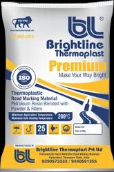 Yellow Thermoplastic Road Marking Paint