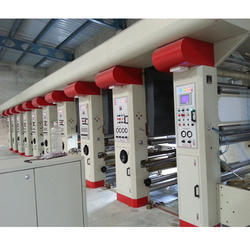 Electronic Line Shaft (ELS) Rotogravure Printing Press