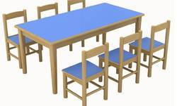 Wooden Table Chair